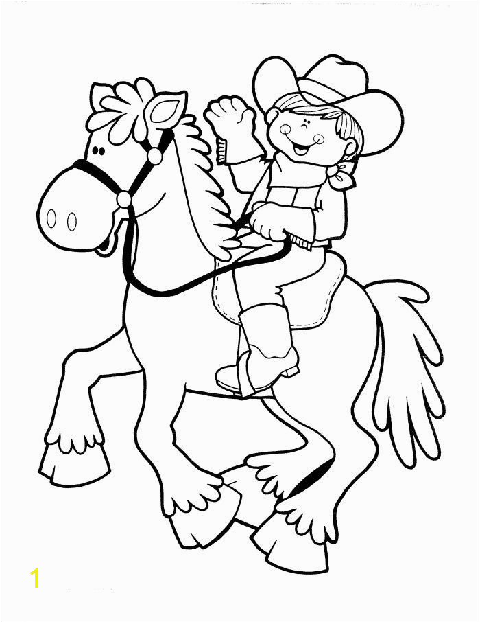 Cowgirl Coloring Pages Printable Cowboy Coloring Pages to Inspire Kids