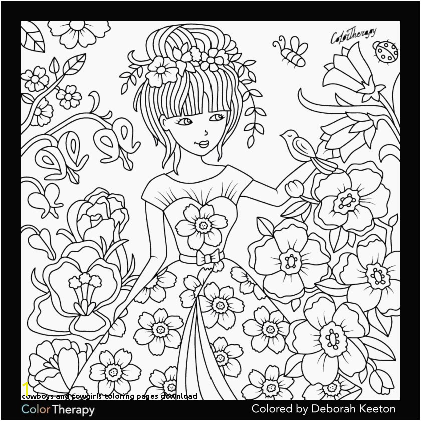 Cowgirl Coloring Pages Printable Cowboys and Cowgirls Coloring Pages Download Lovely Coloring Pages