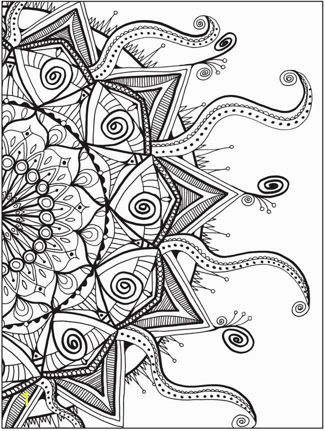 Zendala Coloring Book By Lynne Medsker Dover Publications PAGE 4