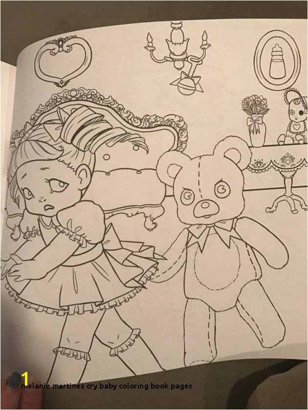 Best Melanie Martinez Cry Baby Coloring Book Pages Inspiration