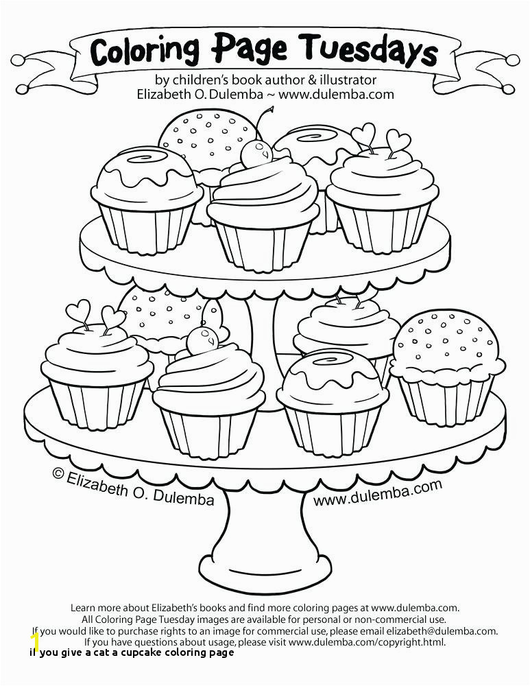 if You Give A Cat A Cupcake Coloring Page Coloring Page Cupcake Related Post Cupcake Coloring Page to Print