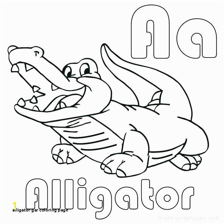 Cute Alligator Coloring Pages Alligator Gar Coloring Page Coloring Pages Template Part 509 Kids