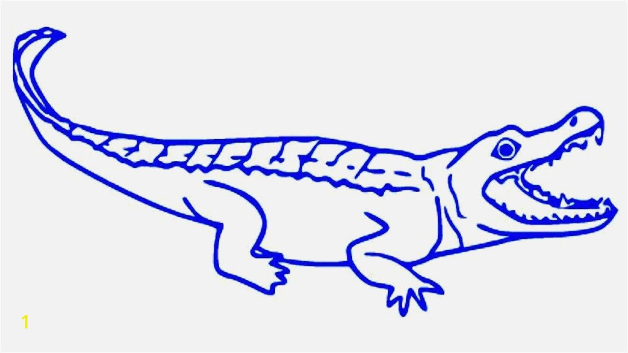 Alligator Coloring Pages Download and Print for Free American Alligator Coloring Page Lovely Alligator Drawing at