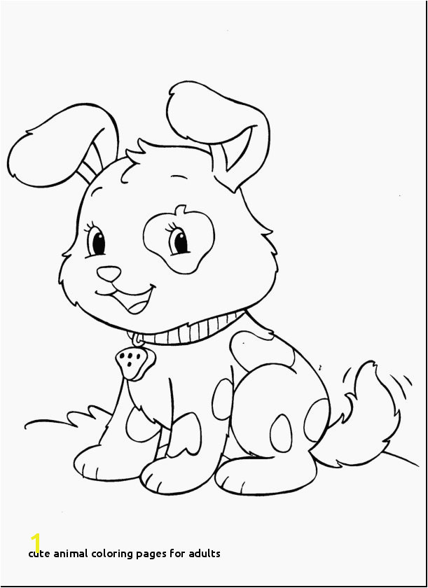 26 Cute Animal Coloring Pages for Adults