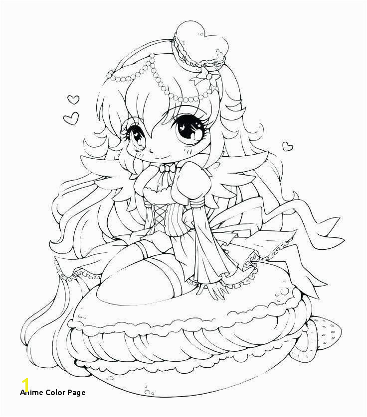 Anime Color Page Coloring Pages for Girls Lovely Printable Cds 0d – Fun Time Cute