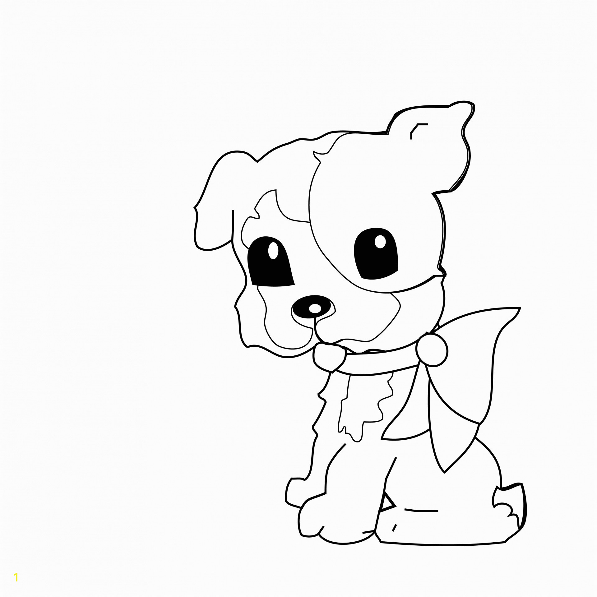 Cute Christmas Puppy Coloring Pages Dog Coloring Page for Kids Free Stock Public