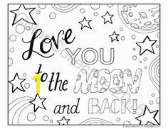 Cute I Love You Coloring Pages 614 Best Coloring Quotes Images On Pinterest