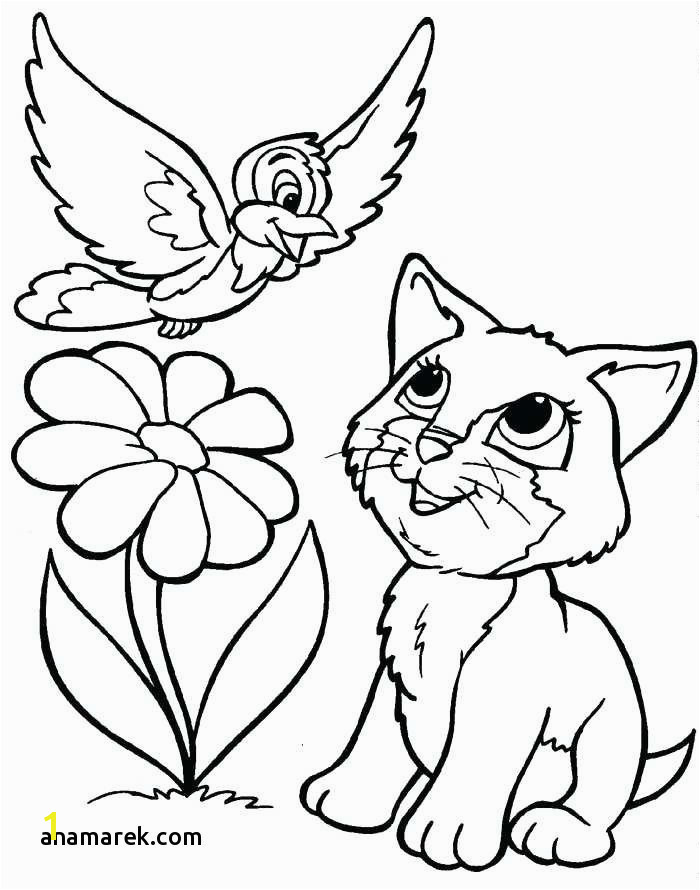 Cute Cat to Print Awesome Free Cute Kitten Coloring Pages for Kids for Adults In