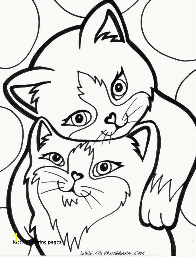 Kitten Color Pages Fresh Elegant Cat Coloring Pages Free Printable