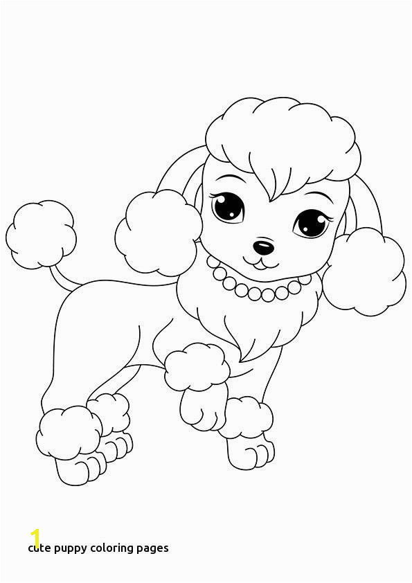 Cute Puppy Dog Coloring Pages 18 Lovely Cute Puppy Coloring Pages to Print
