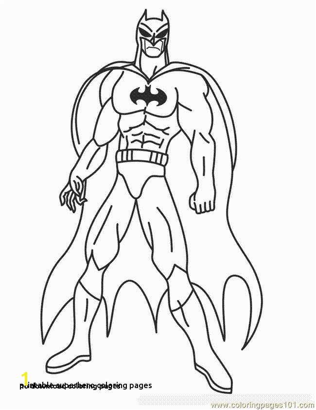 No Download Coloring Pages Free Superhero Coloring Pages New Free Printable Art 0 0d