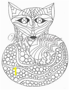 Adult Coloring Page Woodland Animals Printable Coloring Kids Coloring Page Coloring Book Sheets