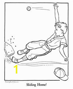 Baseball coloring page for kids People Coloring Pages Coloring Sheets For Kids Coloring Pages
