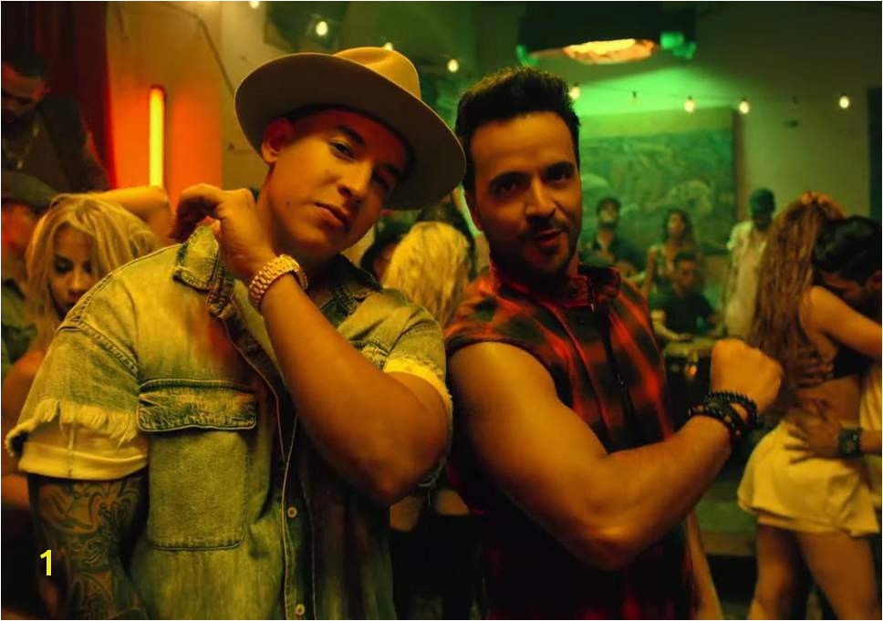 Luis Fonsi and Daddy Yankee in Despacito video Credit
