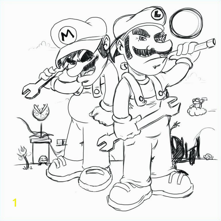 Daisy From Mario Coloring Pages Fresh Mario Luigi Coloring Pages Luxury Line O D Colouring Daisy From