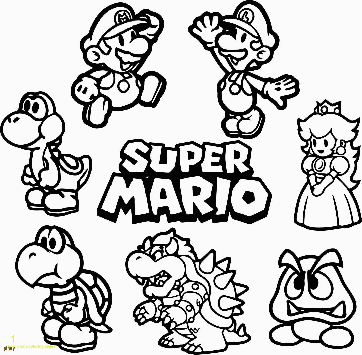 Daisy From Mario Coloring Pages Awesome Daisy From Mario Coloring Pages Coloring Pages Coloring Pages