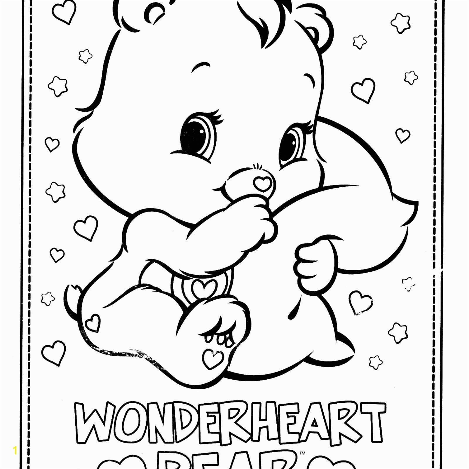Care Bears Coloring Pages Care Bears 3 Cartoons – Printable Coloring Pages