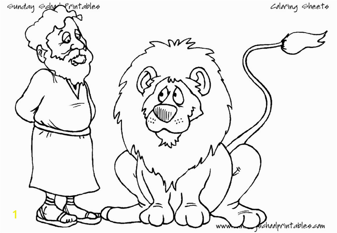 "into the lion s den Daniel 6 16–24 • [a href=""warren images coloringPages danielAndLion lg ""]Open and print[ a] this Christian coloring page"