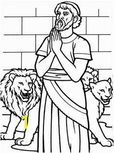 Daniel In the Lion S Den Coloring Page 194 Best Bible Daniel & Sma Images