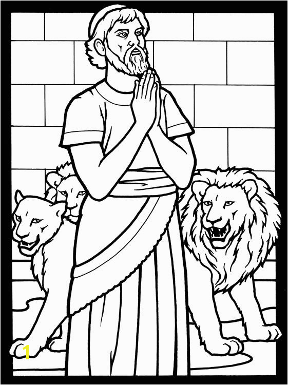 Daniel In the Lion S Den Coloring Page Daniel In the Lion S Den – How It foretold Christ S Crucifixion