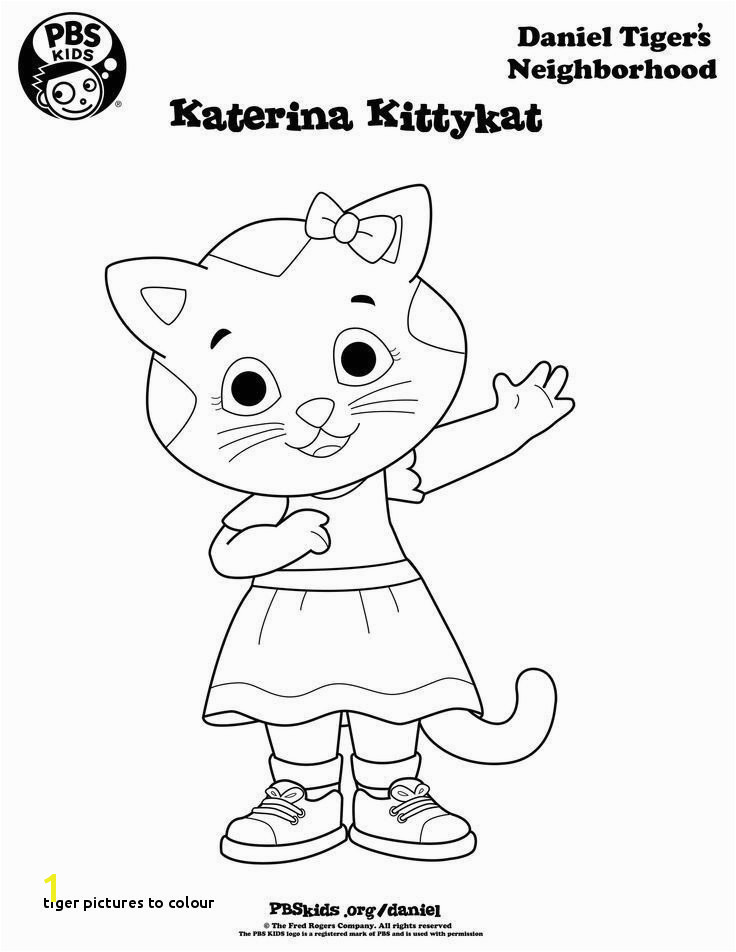 Tiger to Colour Pbs Coloring Pages New Pbs Coloring Pages Lovely Emerging 0d