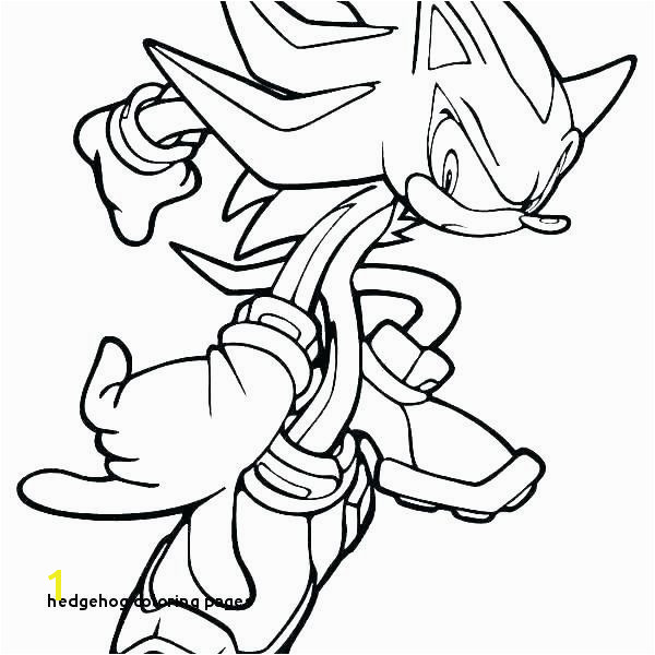 Dark sonic the Hedgehog Coloring Pages sonic the Hedgehog Coloring Pages Fresh Hedgehog Coloring Pages
