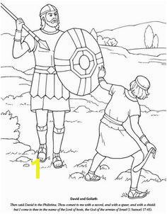 david and goliath Coloring David Und Goliath David And Goliath Craft
