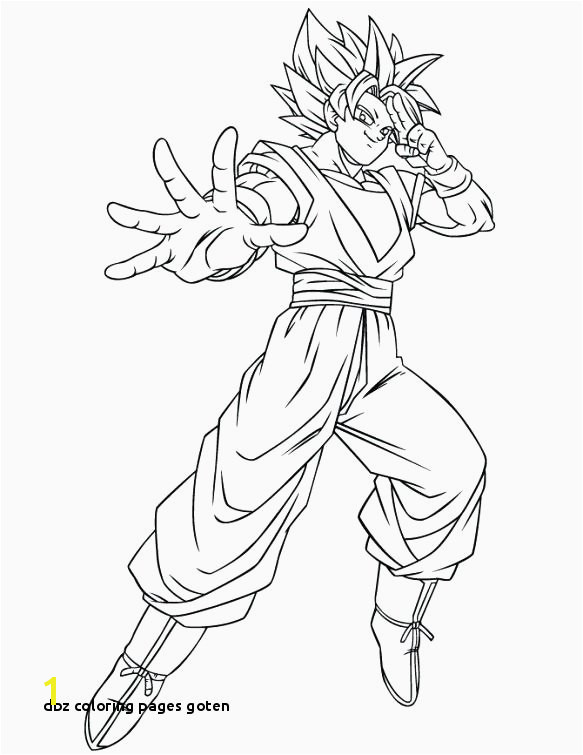 Dbz Coloring Pages Goten Goku Super Saiyan 3 Coloring Pages Best Carolinao Win – Best