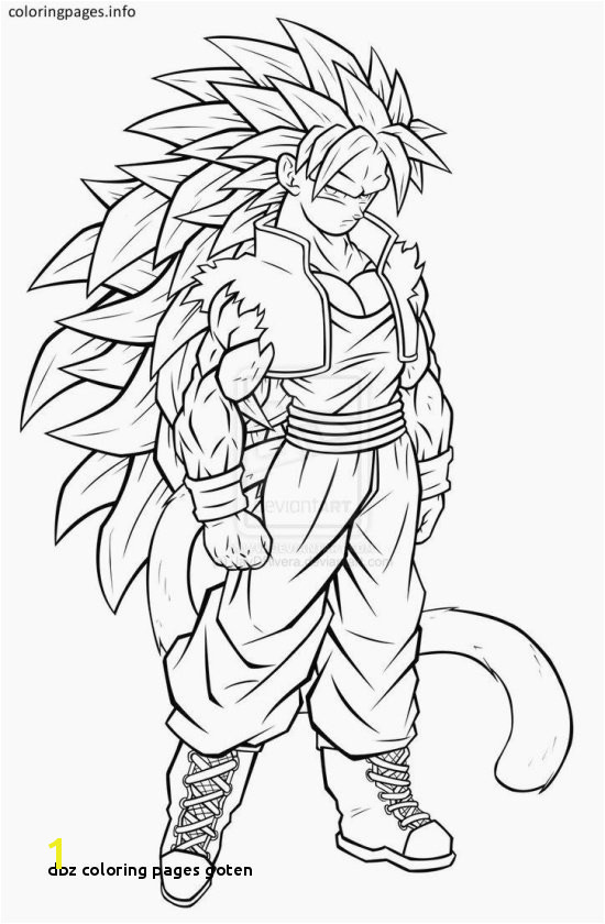 Dbz Coloring Pages Goten Inspirational 20 Awesome Dragon Ball Z Coloring Pages Modokom
