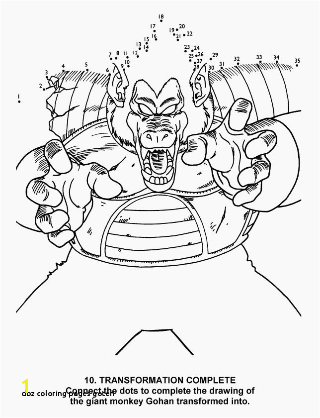 Dragons Ausmalbilder Schön Dbz Coloring Pages Goten Beautiful Nett Dragon Ball Z Kai