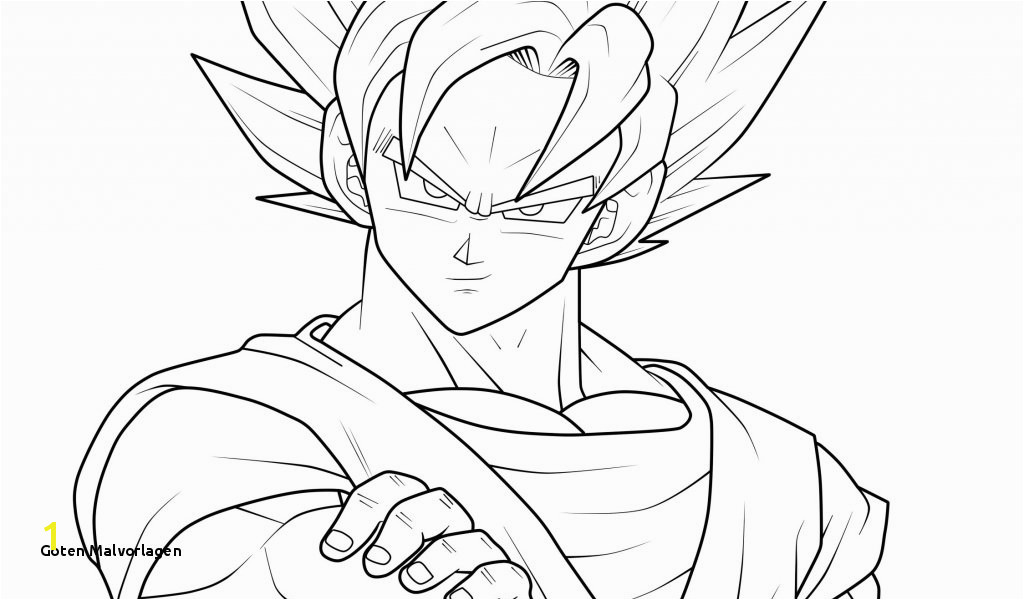 Goten Malvorlagen Dibujos Para Colorear De Dragon Ball Z Dbz Coloring Pages Goten New
