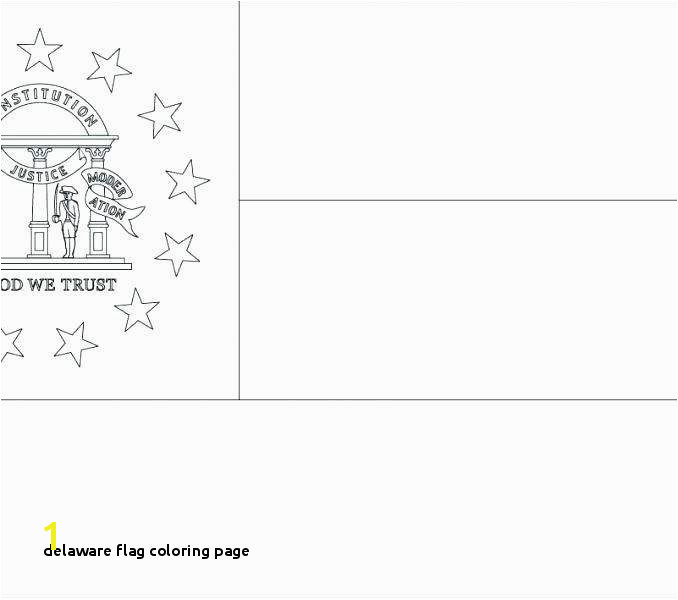 Delaware State Flag Coloring Page Delaware Flag Coloring Page Delaware Flag Coloring Page Download