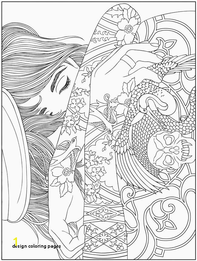 Design Coloring Pages Printable Design Coloring Pages Best Coloring Pattern Pages Amazing