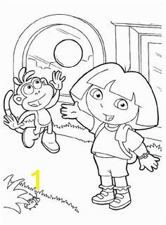 Dora And Boots Coloring Pages Dora The Explorer Coloring Pages KidsDrawing – Free Coloring Pages line