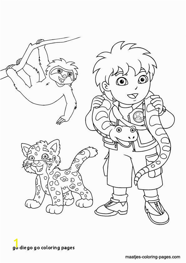 Diego Coloring Pages Exciting Diego Coloring Pages Lovely Fresh Fall Coloring Pages 0d Page For