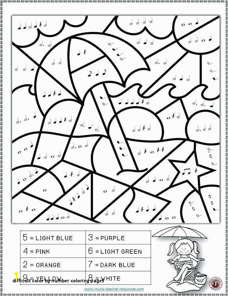 Difficult Color by Number Coloring Pages Coloring Pages for Kids Numbers Luxury Lovely Number 5 Coloring