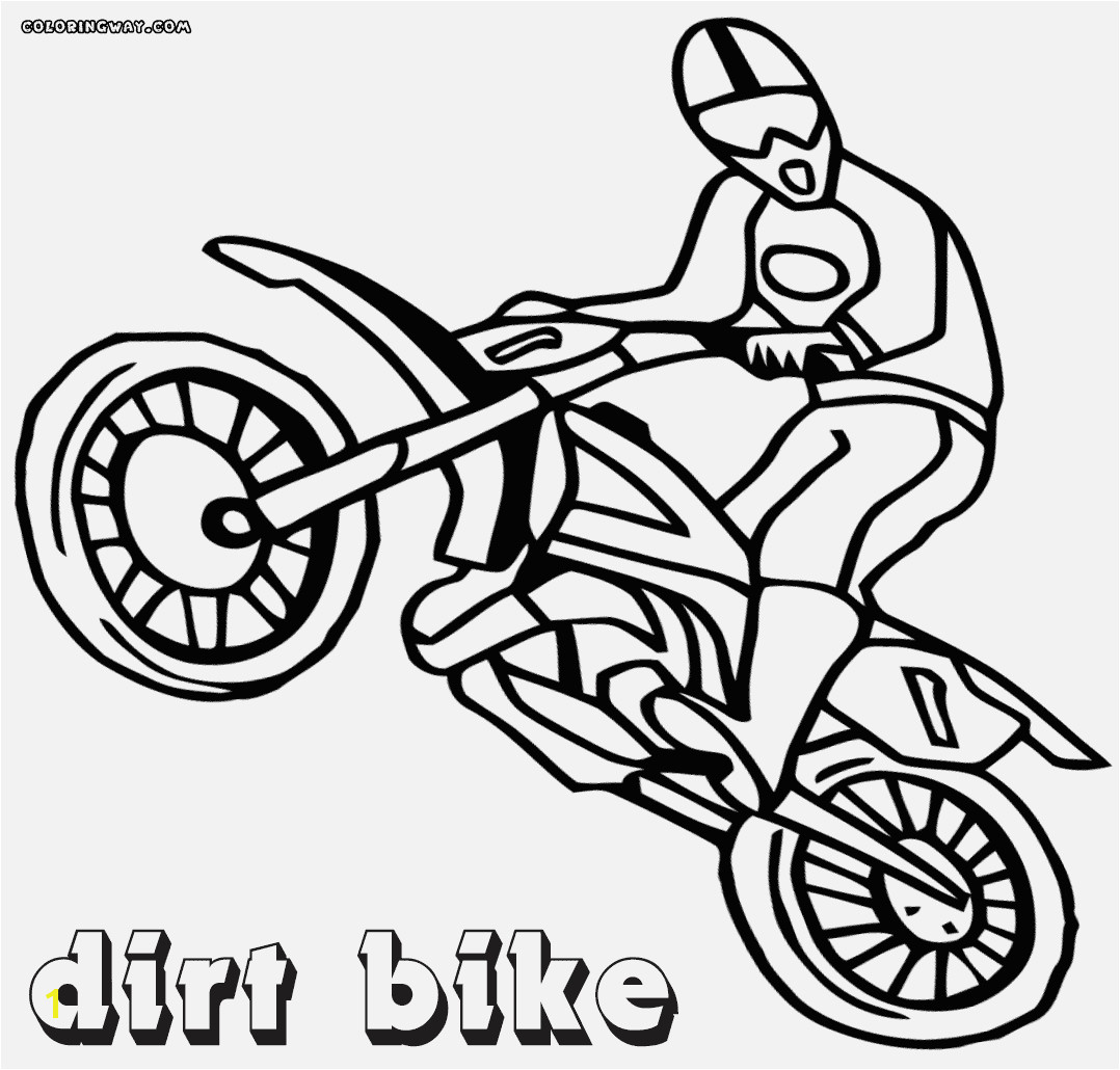 Dirt Bike Coloring Pages Coloring & Activity line Dirt Bike Coloring Pages 22 In Gallery Coloring