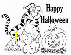 Tigger and Pooh Free Disney Halloween Coloring Pages Halloween Coloring Free Halloween Coloring