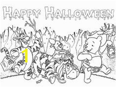 Halloween Coloring Pages Winnie The Pooh And Friends Halloween Coloring Pages Fall Coloring Pages