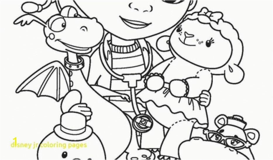 Colorful Disney Jr Coloring Pages Inspiration Coloring Paper Concept