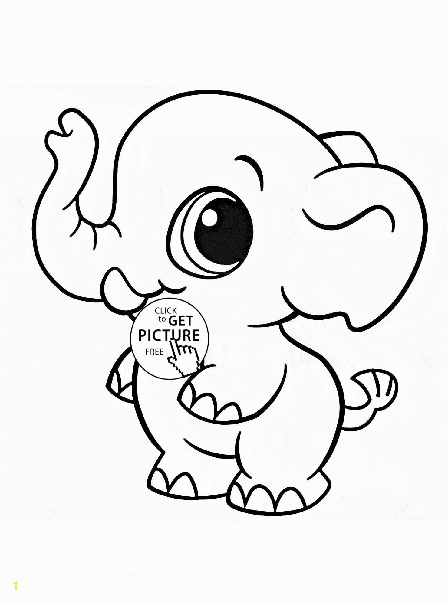 Elephant Coloring Pages for Kids Elephant Coloring Pages Unique Color Page New Children Colouring 0d
