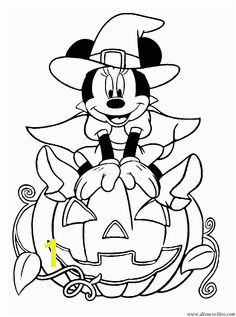 Halloween Coloring Pages · imagesndg minniepumpkin