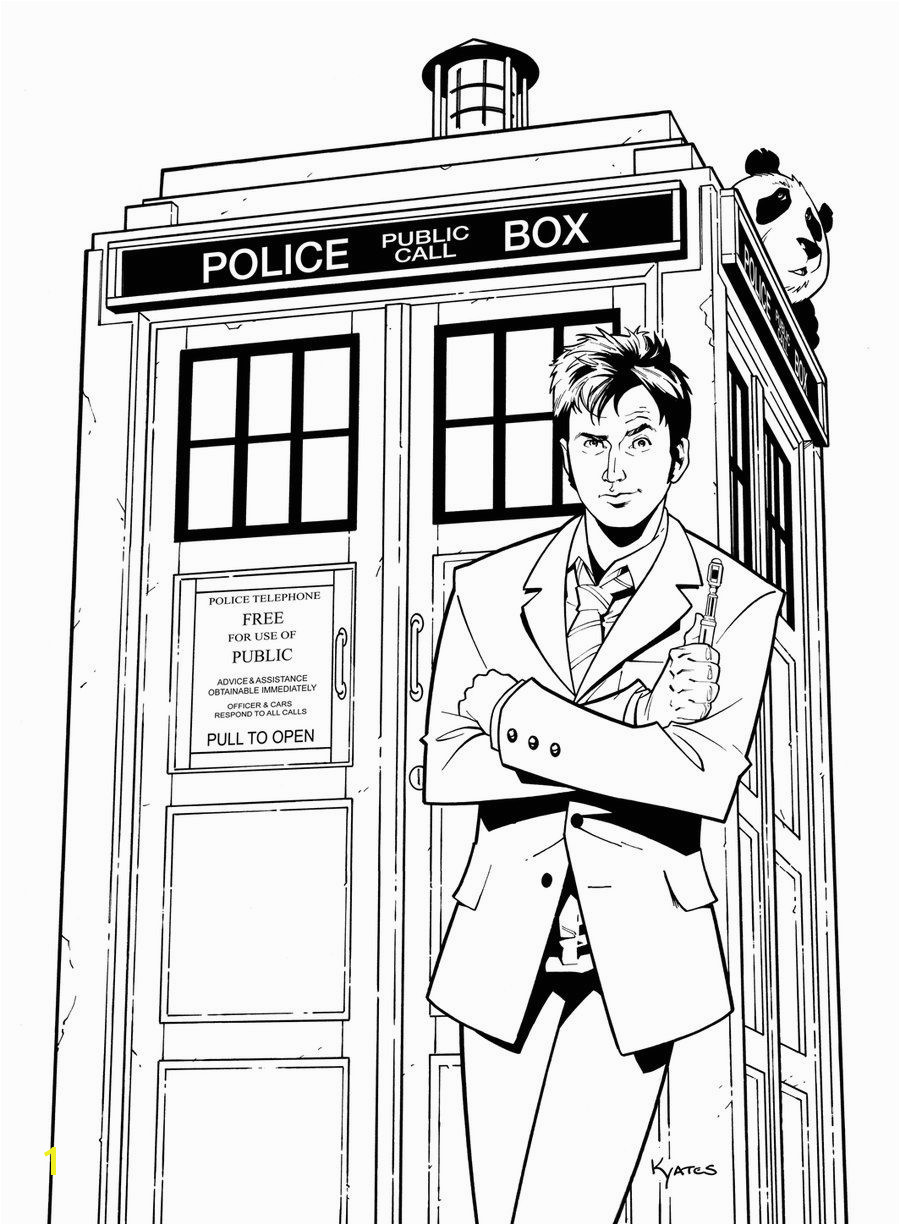 Doctor Who TARDIS Doctor Who TARDIS Cool Coloring Pages