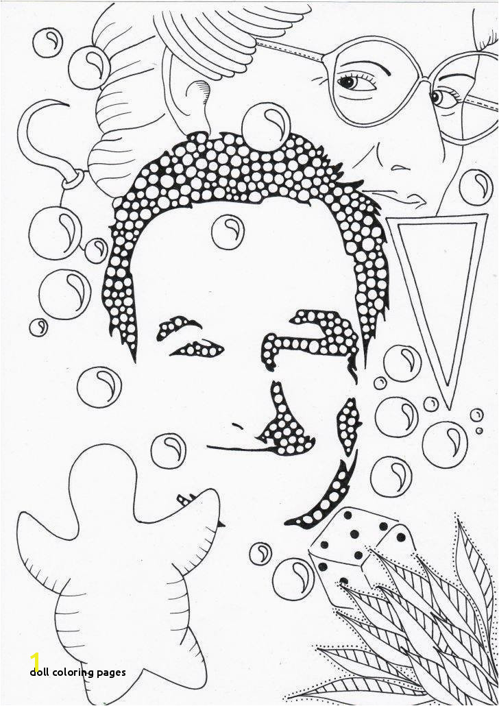 Doll Coloring Pages Full Coloring Pages Best Coloring Printables 0d – Fun Time Ideas