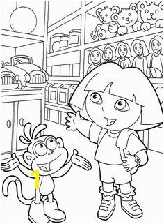 Get creative and color this Dora the Explorer coloring pictures for kids Dora the Explorer coloring pictures for kids Find and print your favorite cartoon
