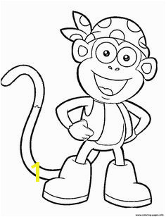 Print dora printable s boots character451a coloring pages Dora Coloring Giraffe Coloring Pages Coloring