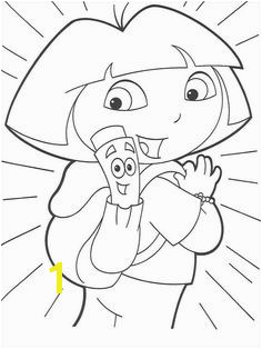 Dora the Explorer Coloring Pages 146 Dora Map Dora Coloring Colouring Coloring Pages