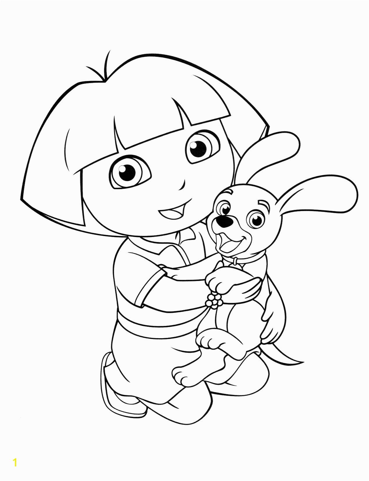 Dog Coloring Pages Games Fresh Dora Colouring Sheets Pdf Printable Dora And Friends Christmas