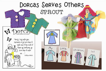 Doras Serves Others Bible Lesson for Children from
