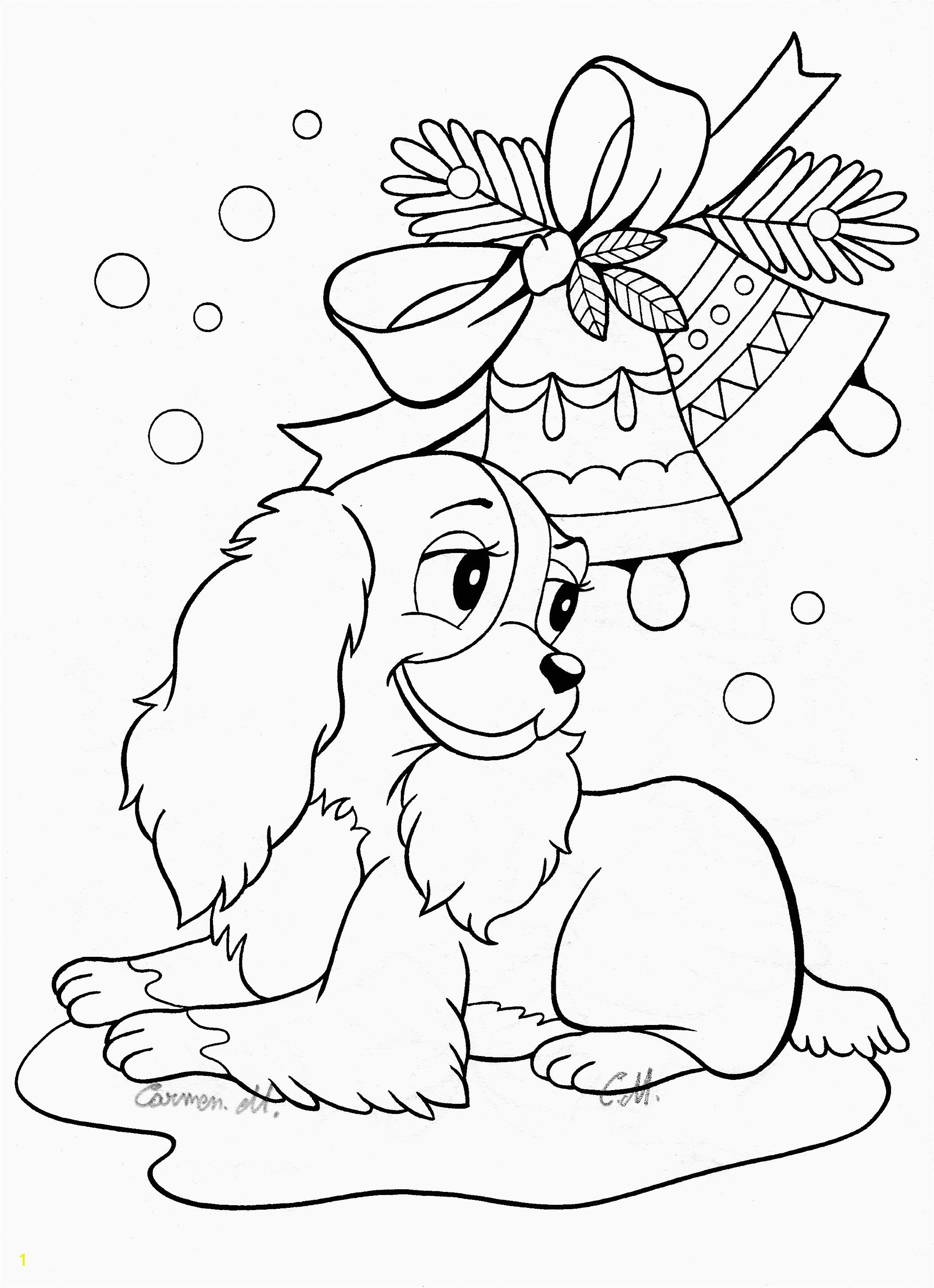 Free Downloadable Coloring Pages New Awesome Coloring Pages Cute Animals Unique Printable Od Dog Coloring